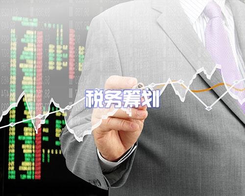 林芝税务筹划